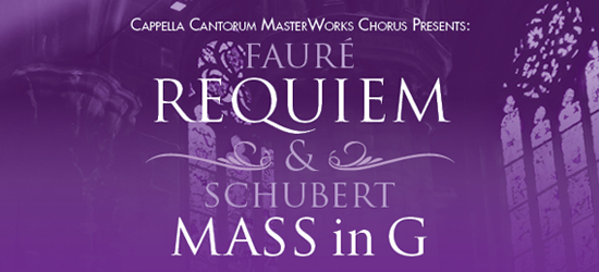 Faure Requiem & Schubert Mass in G