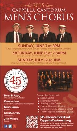 Men's Chorus 2015 First Half Poster 250w