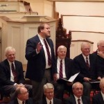 Men's Chorus at First Congregational Church of Granby, November 22, 2008, David Nelson solo