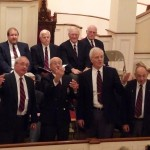 Men's Chorus at First Congregational Church of Granby, November 22, 2008, Hilltop Four Barbershop Quartet