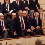 Men's Chorus at First Congregational Church of Granby, November 22, 2008, Tony Carrano solo