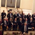 Men's Chorus at First Congregational Church of Granby, November 22, 2008