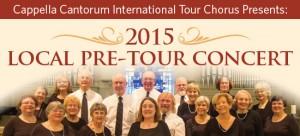 International Tour Chorus 2015 Local Pre-Tour Concert Performance 550x250